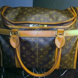 Vintage Louis Vuitton Luggage Shoe Travel Bag